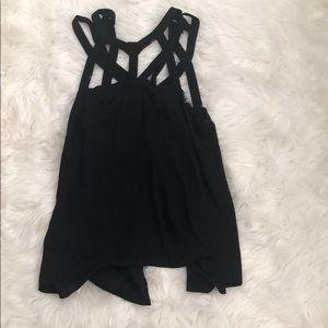 Black BCBG dress top